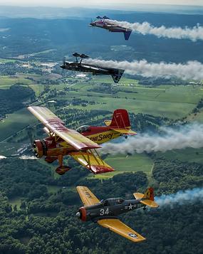Aerobatic training, warbirds training, formation flying, tailwheel training, flight training