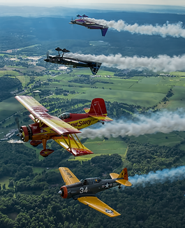 aerobatics, photo flight, tailwheel, warbird, airshows