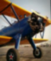 Boeing, PT-17, Stearman, T-6 Texan, SNJ, warbird training, Biplane, open cockpit