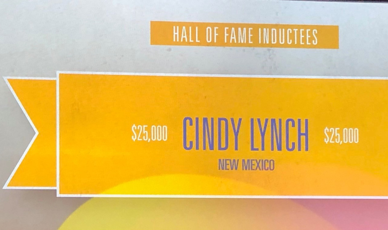 Cindy Lynch RPAC Hall of Fame