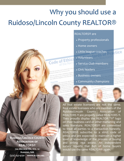 Why use a RLCAR REALTOR
