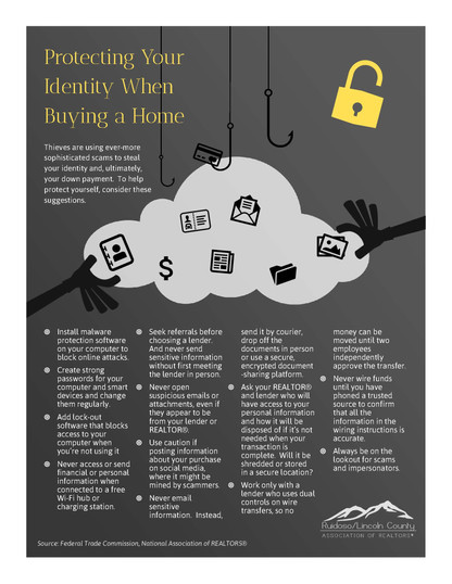 Protecting Your Identity When Buying a House