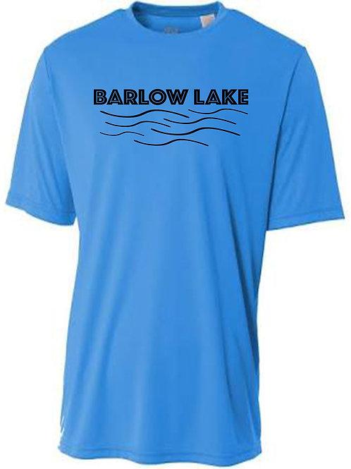 Barlow Lake Sun Tee with Black Logo