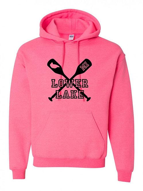 Lower Lake Oars Hoodie