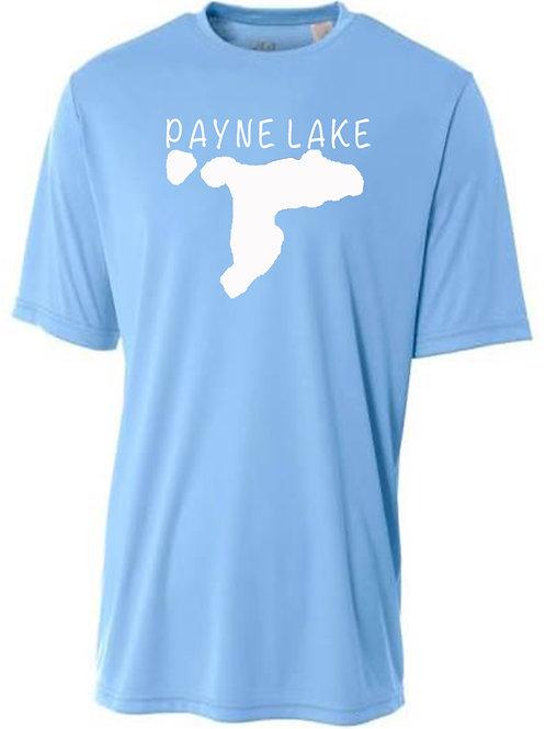 Payne Lake Sun Tee with White Logo