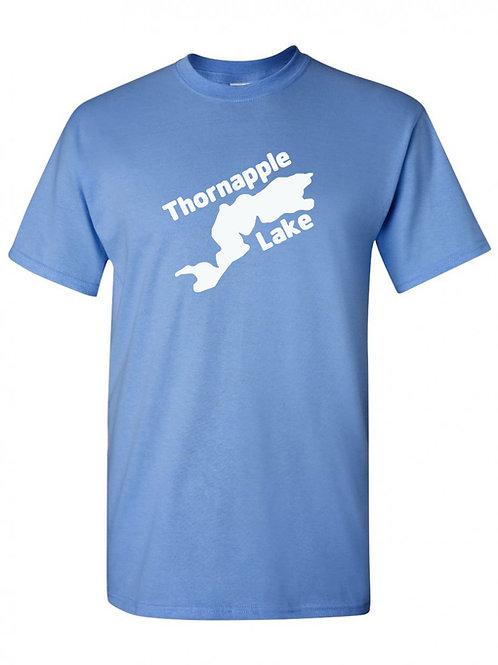 Thornapple Lake White Logo T-Shirt