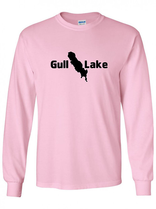 Gull Lake Black Logo Long Sleeve