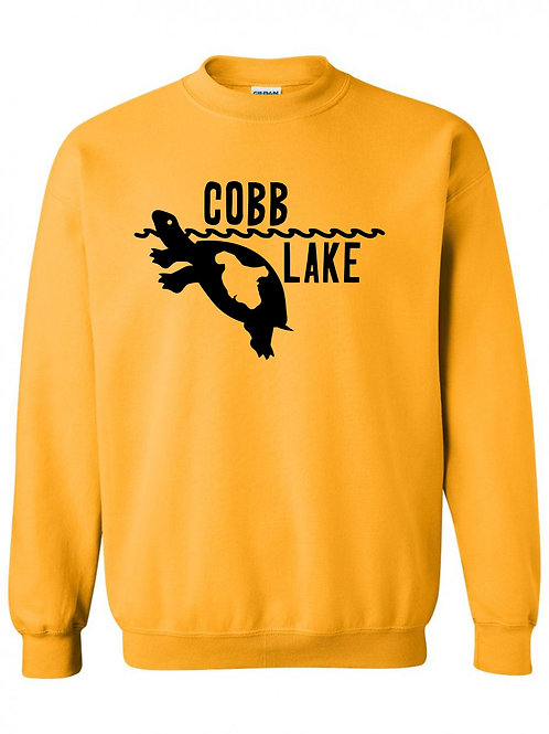 Turtle Cobb Lake Crewneck