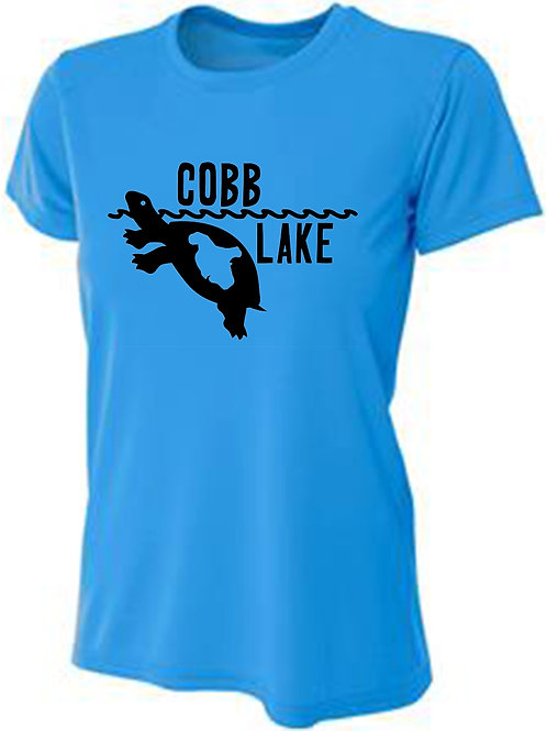 Turtle Cobb Lake Women's Sun Tee