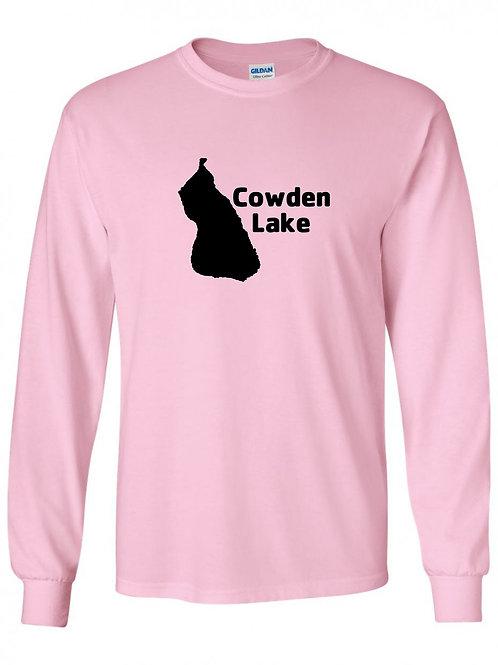 Cowden Lake Black Logo Long Sleeve