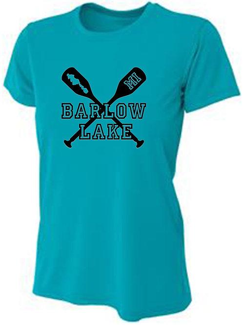 Barlow Lake Oars Women's Sun Tee