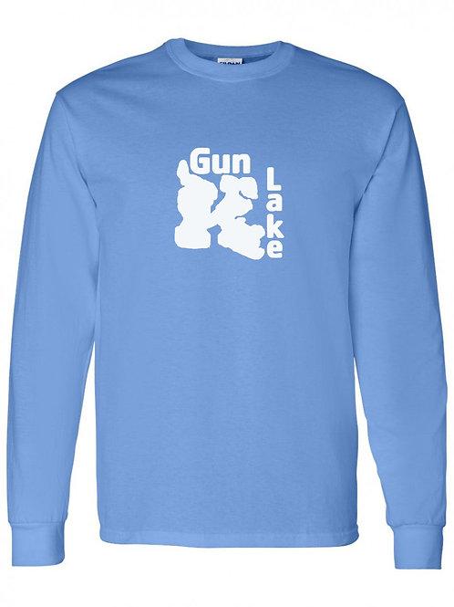 Gun Lake White Logo Long Sleeve
