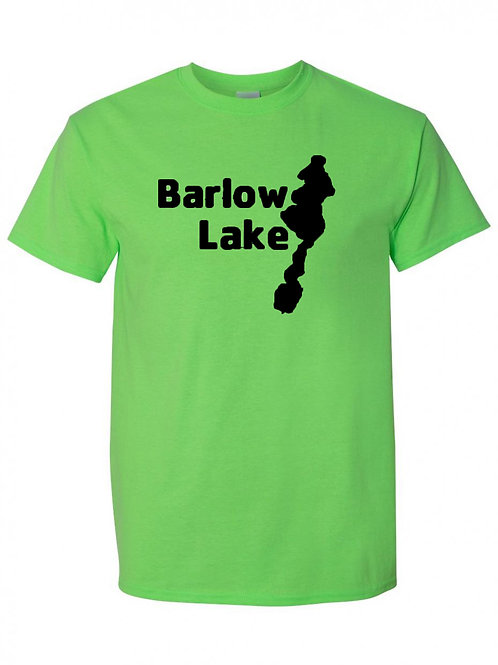 Barlow Lake Black Logo T-Shirt