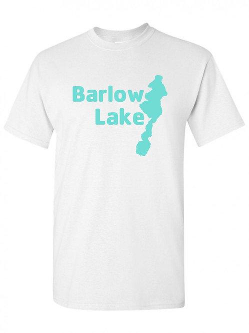 Teal Barlow Lake Logo