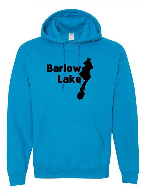 Barlow Lake Black Logo Hoodie