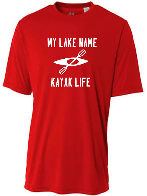 My Lake Kayak Life Men's Sun Tee