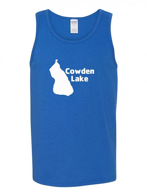 Cowden Lake White Logo Tank Top