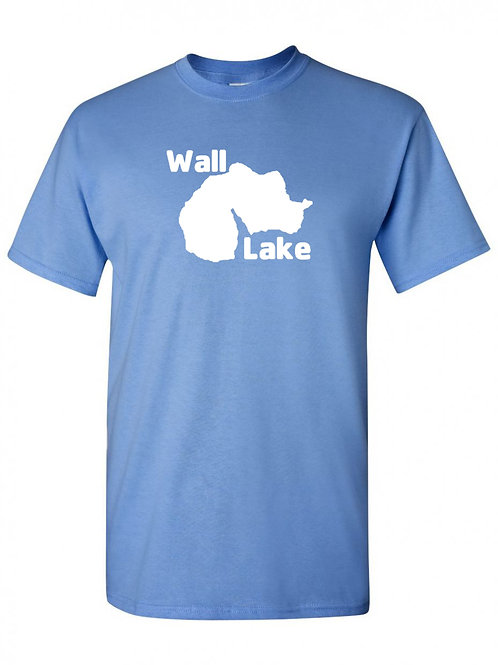 Wall Lake White Logo T-Shirt