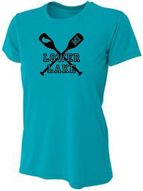 Lower Lake Oars Women's Sun Tee