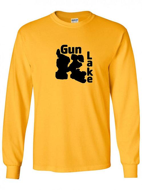 Gun Lake Black Logo Long Sleeve