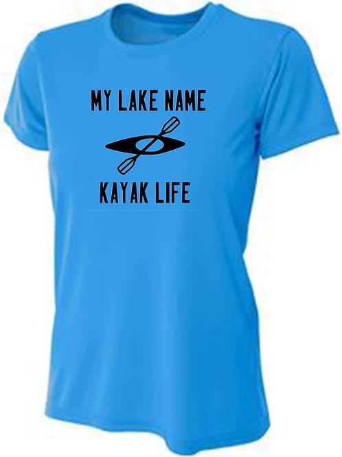 My Lake Kayak Life Women's Sun Tee