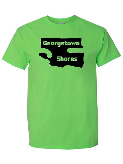 Georgetown Shores Black Logo T-Shirt