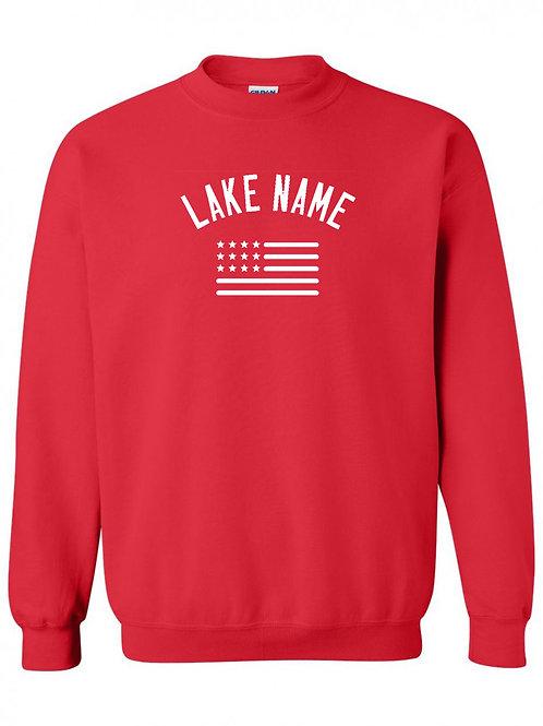 Any Lake 4th of July Crewneck