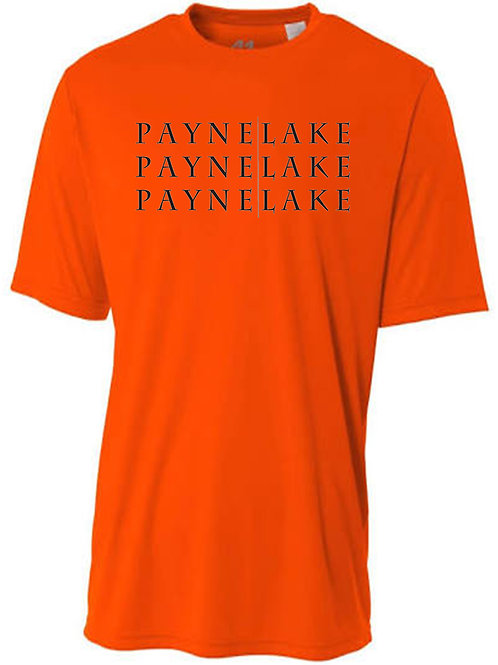 Payne Lake Sun Tee with Black Logo