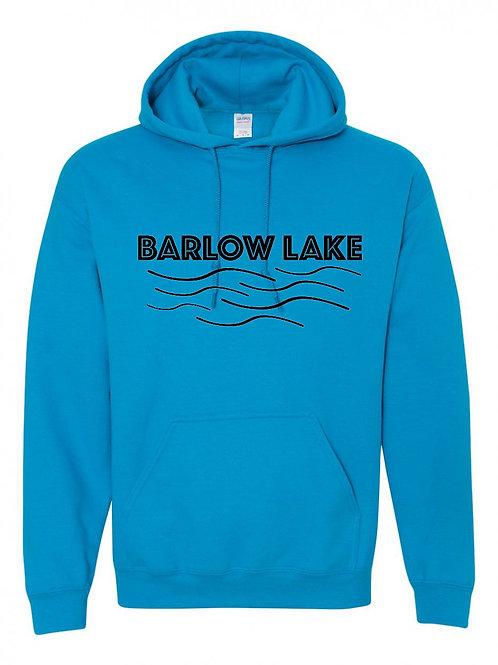Barlow Lake Black Wave Hoodie