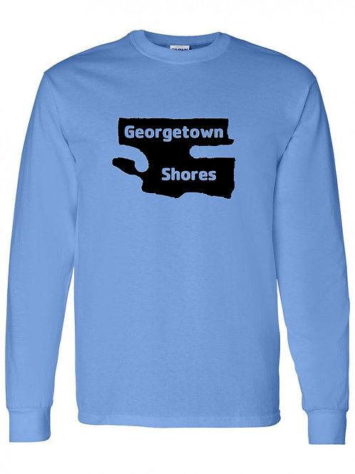 Georgetown Shores Black Logo Long Sleeve