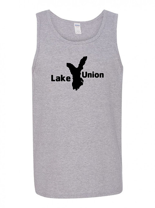Lake Union Black Logo Tank Top