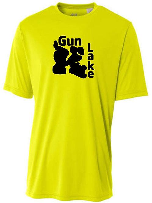 Gun Lake Black Logo Sun Tee