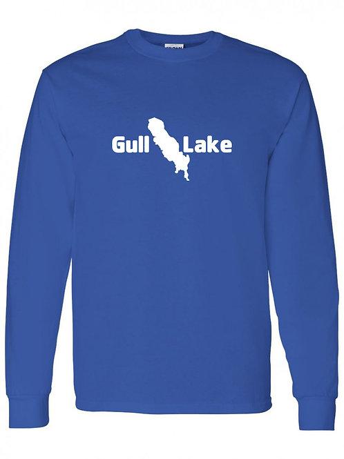 Gull Lake White Logo Long Sleeve