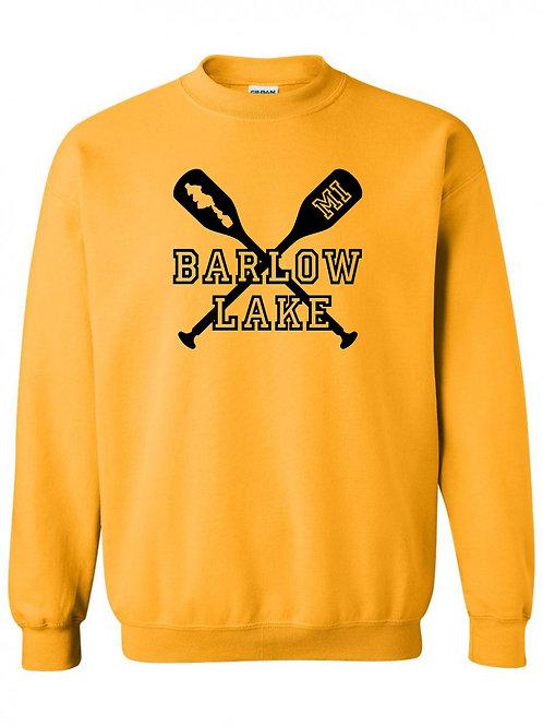 Barlow Lake Oars Crewneck