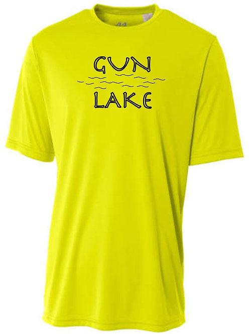 Gun Lake Sun Tee with Black logo