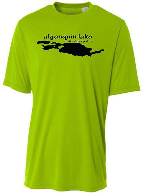 Algonquin Sun tee with Black logo