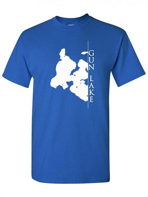 Gun Lake White Line T-shirt