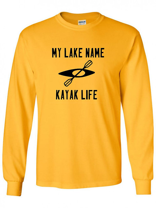 My Lake Kayak Life Long Sleeve