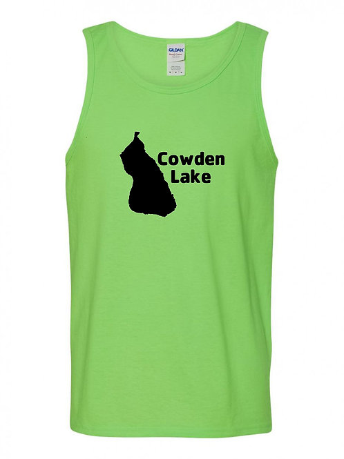 Cowden Lake Black Logo Tank Top