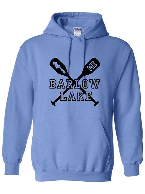 Barlow Lake Oars Hoodie