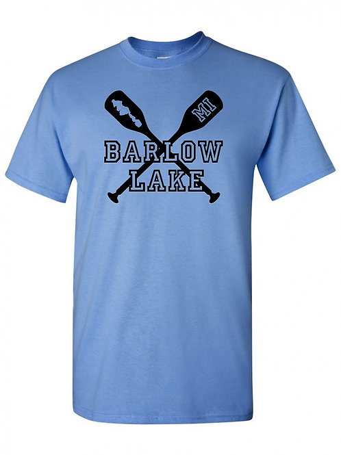 Barlow Lake Oars T-Shirt
