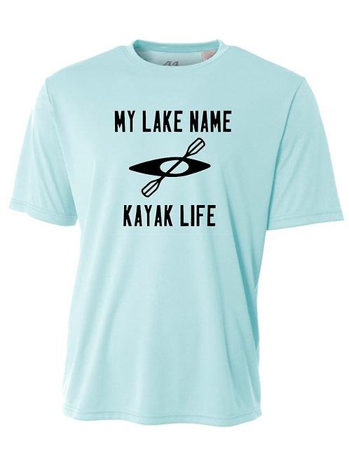 My Lake Kayak Life Men's Sun Tee