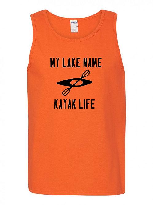 My Lake Kayak Life Tank Top