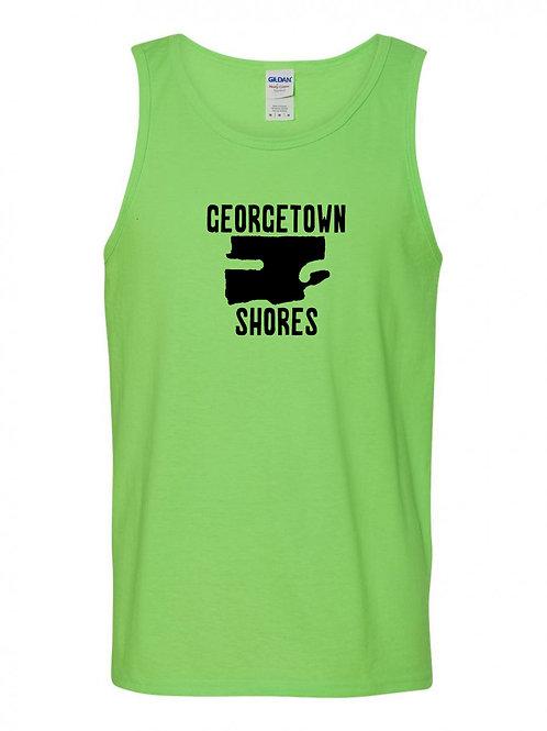 Georgetown Shores Black Logo Tank Top