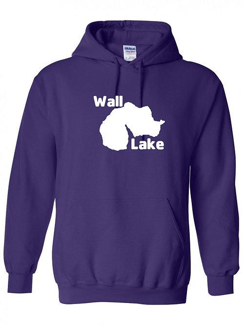 Wall Lake White Logo hoodie