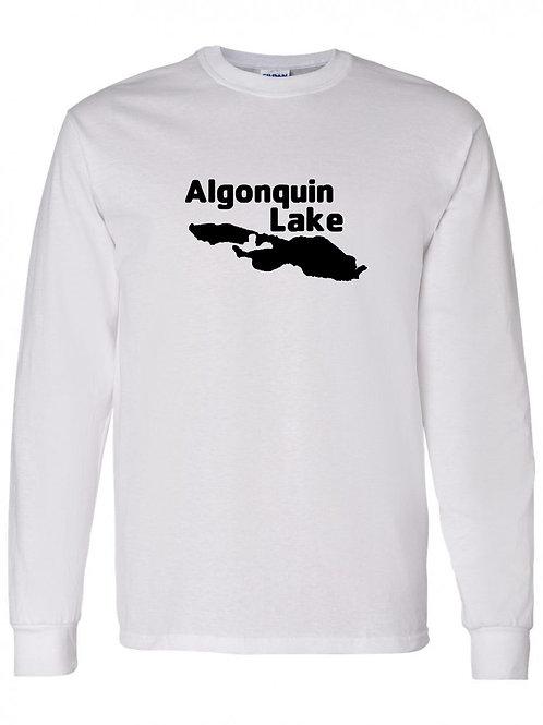 Algonquin Lake Black Logo Long Sleeve