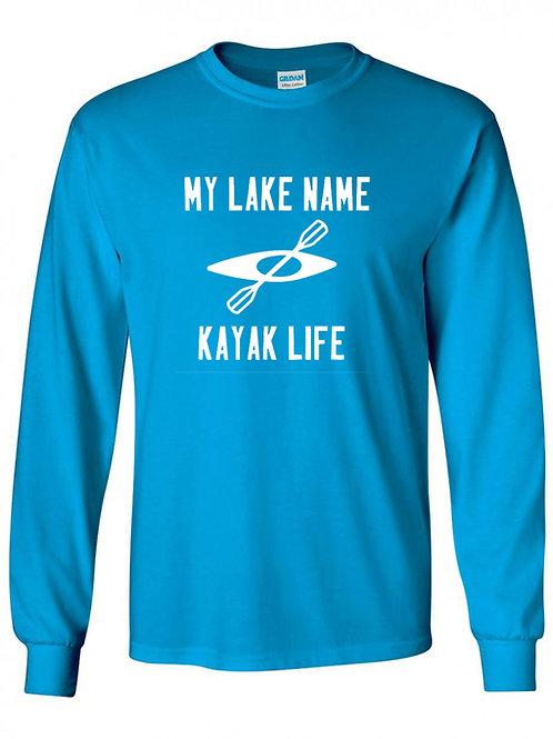 My Lake Kayak Life Long Sleeve