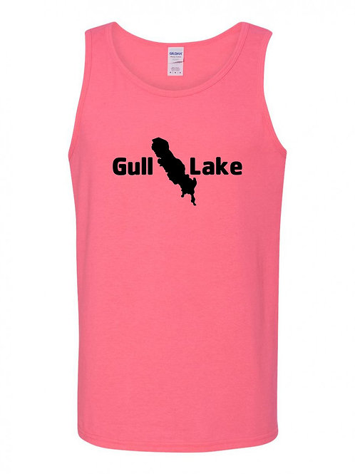 Gull Lake Black Logo Tank Top