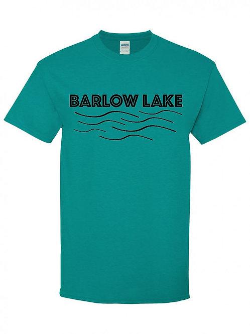 Barlow Lake Black Wave T-Shirt