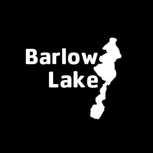 Barlow Lake White Decal